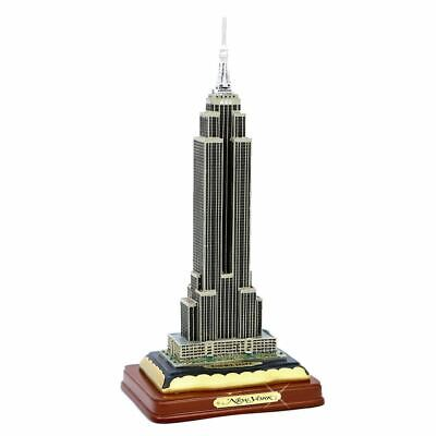 "11"" Empire State Building w/ Wood Base"