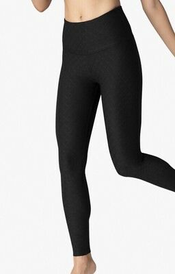 2a97773bac BEYOND YOGA Can't Quilt You High Waist Leggings Size Small, Jet Black $99.00