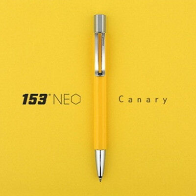 Monami 153 Special Limited Edition High Quality Ballpoint Pen - Neo Canary