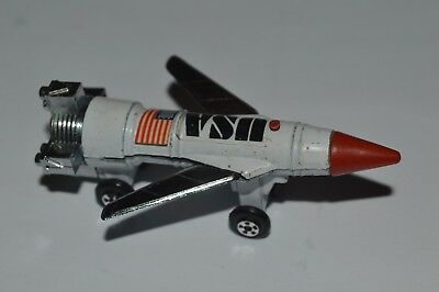 Vintage Thunderbirds Space Vehicle USA Yot Toys 1970's Made In Taiwan Very Good