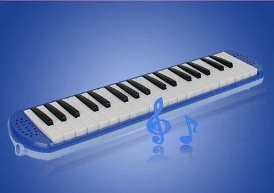 D08 32 Piano Keys Blue Musical Instrument Melodica Pianica With Carrying Bag O