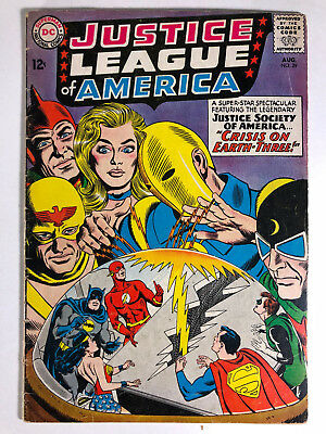 1963 DC Justice League of America #29 Crisis on Earth-Three
