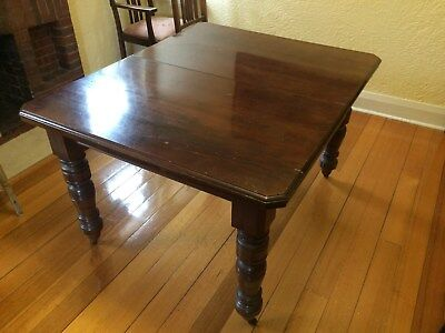 Antique extendable dining table - restorable