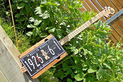 """A COOL- Cigar Box """"style"""" Guitar with a Pre Amp built by Jandyb. Plus FREE post"""