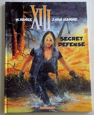 BD XIII - Vance/Van Hamme - vol 14 Secret Défense EO 2000