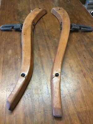 Wooden And Forged Iron Hoses Hames