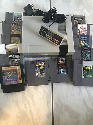 Nintendo NES System With 13 Games