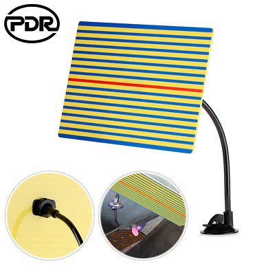 PDR Paintless Hail Repair Removal Reflector Line Board Dent Doctor w/Suction