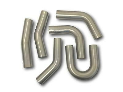 """4"""" Inch 100mm Exhaust Pipe Mandrel Bend 304 Stainless 15 To 90 Degree Bends"""