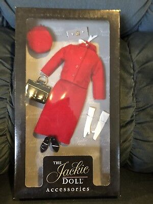 Franklin Mint Jackie Doll Outfit - Red Suit - NRFB