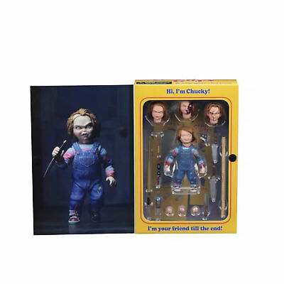 NECA - Chucky 4 inch Scale Action Figure Ultimate Chucky