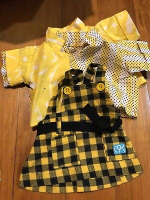 Cabbage Patch Kids - Coleco Cornsilk Outfit - Black and yellow
