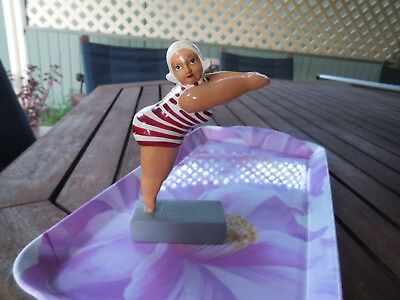 Limited Edition, Quirky Figurine, Striped Swimsuit, 'dr Livingstone I Presume'