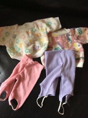 Cabbage Patch Kids - Coleco Cornsilk Clothes - Pink And Lilac