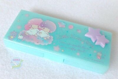 Brand-NEW SANRIO Little Twin Stars KAWAII Very Small Accessory Case Blue Color