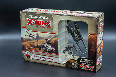 Star Wars X-Wing Miniatures Game Saw's Renegades - New - Real Aus Stock!
