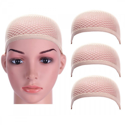 Dreamlover 3 Pack Upgraded Wig Caps with THICK Nylon Thread, Durable Wig Cap wit