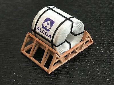 HO Scale Loads - Coil in Support Cradle - ALCOA