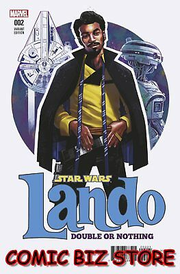 Star Wars Lando Double Or Nothing #2 (Of 5) (2018) Scarce 1:25 Stewart Variant