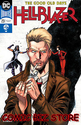 Hellblazer #23 (2018) 1St Printing Bagged & Boarded Dc Universe