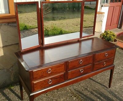 Stag minstrel dressing table with 6 draws