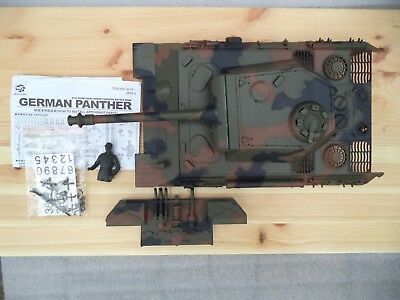 RC Panzer 1:16 German Panther Oberwanne Heckteil Heng Long