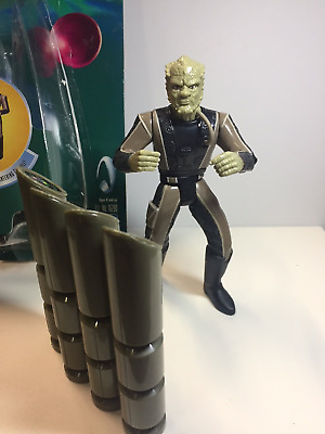 STAR TREK Figuren selten  JEM HADAR SOLDIER Action Figure Warp Factor Series 2