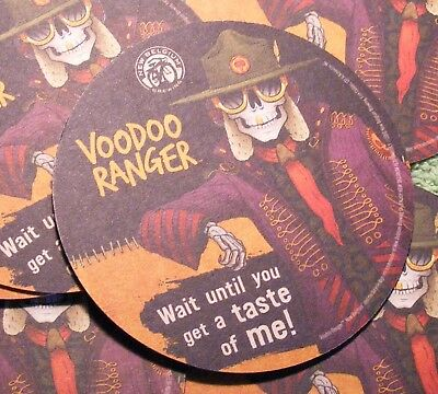 VOODOO RANGER BEER COASTERS LOT of 10 FREE SHIPPING