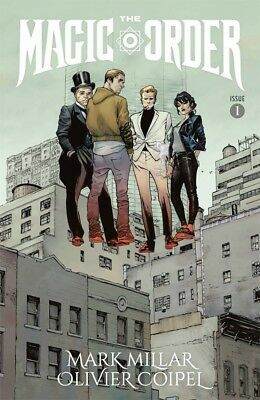 Magic Order #1 Cover A Coipel First Printing