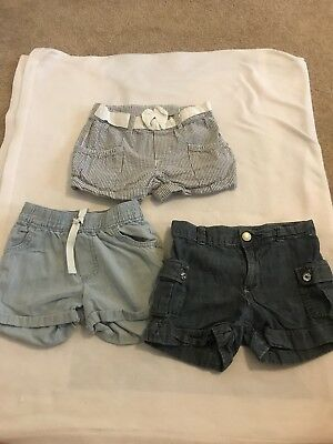 Lot Of 3 Toddler Shorts Size 4t