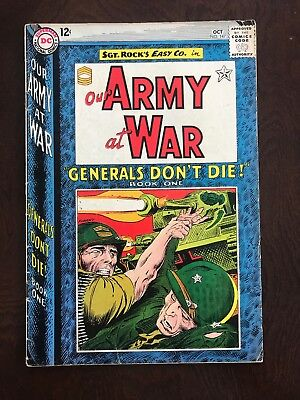 Our Army at War #147 1964. NO RESERVE!!!