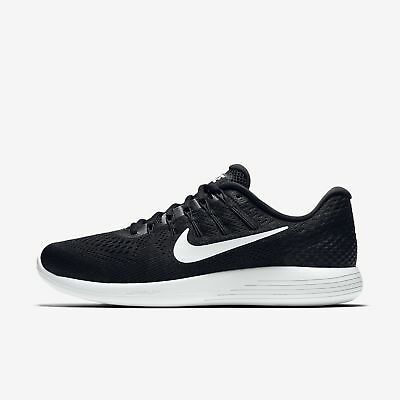 07c3561ade398a MEN S NIKE LUNARGLIDE 8 SHOES black white anthracite AA8676 001 MSRP  120