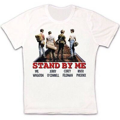 Stand By Me Classic Comedy Movie Poster Retro Vintage Hipster Unisex T Shirt 87