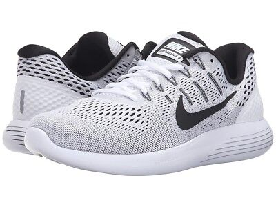 MEN S NIKE LUNARGLIDE 8 SHOES white black AA8676 101 -  57.97  5415aab7f