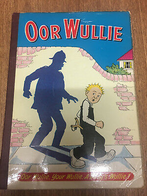 Oor Wullie Annual 1963 by DC Thomson UK Vintage Sunday Post, Dudley D. Watkins