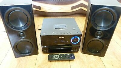 Philips Micro Home Music System DCM3020 - Speakers/Stereo/Radio/MP3/CD Player
