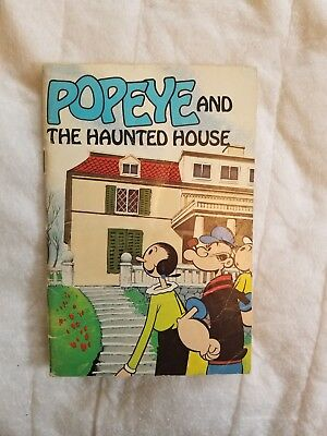 Popeye And The Haunted House Paperback Weekly Reader Book 1980