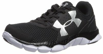 033ddeedb9 UNDER ARMOUR UA BPS Engage Bungee Running Shoes sz 11 Black Pre-School Kids  11K