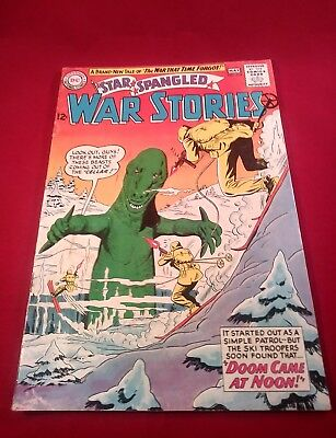 Star Spangled War Stories  114  Dc Comic  Dinosaur Cover Issue 5.5