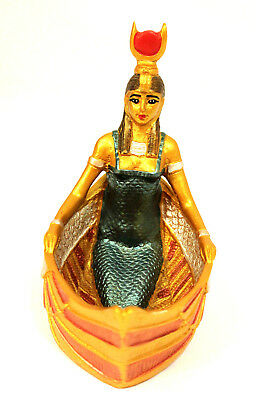 Authentic Egyptian Statue Goddess Isis Hathor Mother Figurine Ancient Egypt Gift
