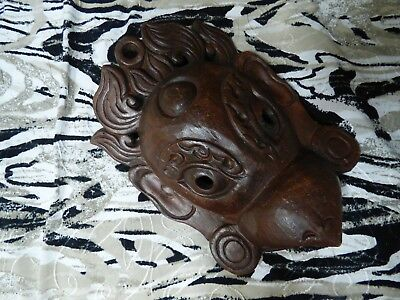 Ghana African Tribal Wood Carved  wall art