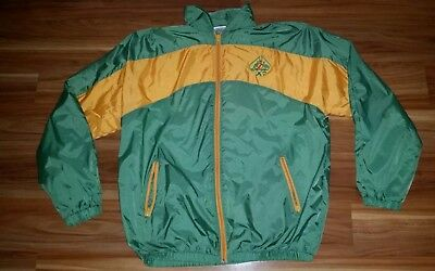 ACC Cricket Coach Player Jacket Winter Wet Weather Retro Parker Mens Size 115