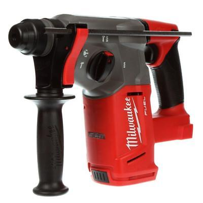 """New Milwaukee Fuel 18 Volt Lithium Ion 1"""" SDS Plus Rotary Hammer Drill # 2712-20"""
