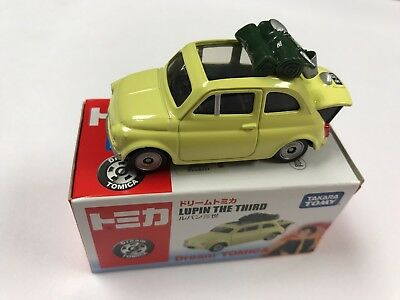 Takara Tomy Japan Dream Tomica Fita 500 Lupin The Third Diecast -Ships From USA