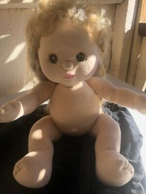 My Child Doll Mattel 1985 Blonde With Hazel Eyes FREE DELIVERY IN AUST