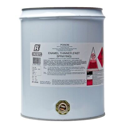 Enamel Paint Thinners 20 Litre Recochem Stripper Cleaner Wax Grease