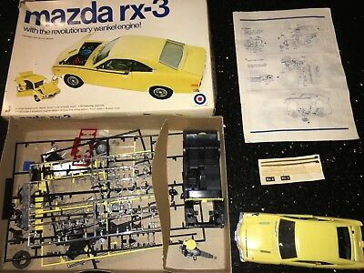 1/20 Vintage Mazda RX3 RX-3 Entex Model Kit Rotary NO RESERVE!