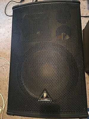 Behringer Eurolive B1520DSP Active PA Speakers 600W x 2