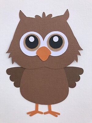Owl fully assembled paper piecing / die cut