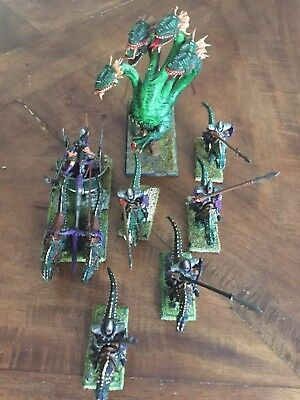 Warhammer Fantasy Age Of Sigmar Dark Elves Army Drakespawn Hydra Games Workshop